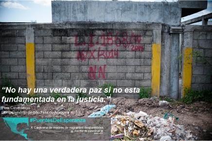 """""""No hay una verdadera paz si no está fundamentada en la justicia"""" . PereCasaldaliga"""