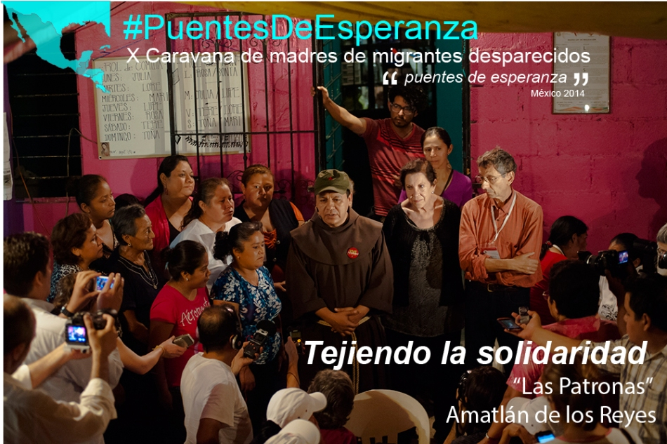 """""""Abran las puertas"""" Caravana de madres centroamericanas #PuentesDeEsperanza"""