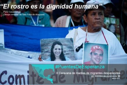 """""""El rostro es la dignidadhumana"""""""