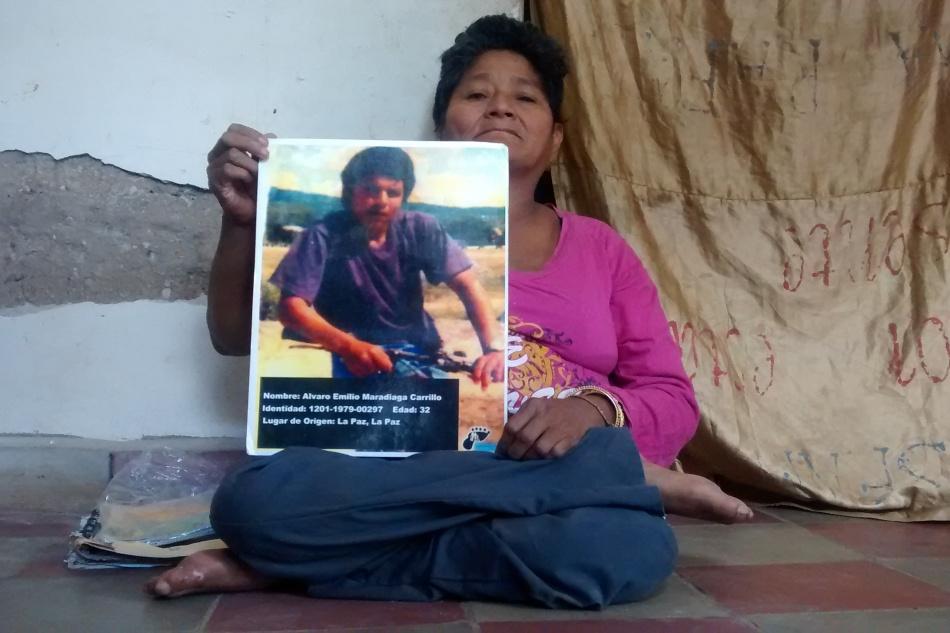 Migrantes desaprecidos: Álvaro Emilio MaradiagaCarrillo