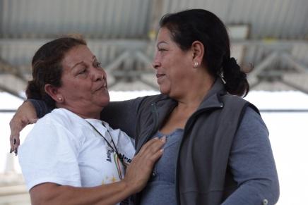 El @MMMesoamericano reune a hermanas nicaraguenses luego de 8 años dedesaparecida