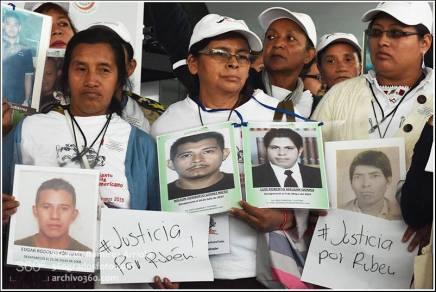 Nuestra solidaridad y abrazo a los periodistas: Caravana de madres centroamericanas