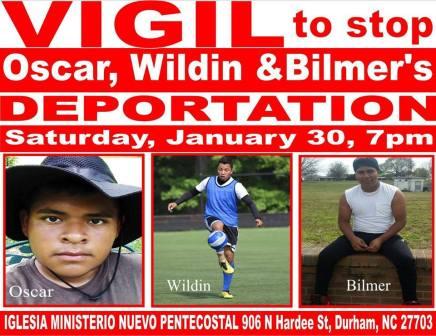 Realizaran vigilia por migrantes centroamericanos detenidos por ICE en Carolina delNorte