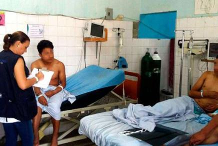 Se accidentan diez migrantes ecuatorianos enHonduras