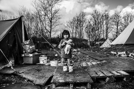 La Jungla de Calais, gran crisishumanitaria