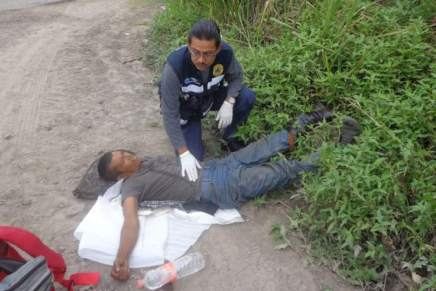 Migrante cae del tren durante operativo demigracion