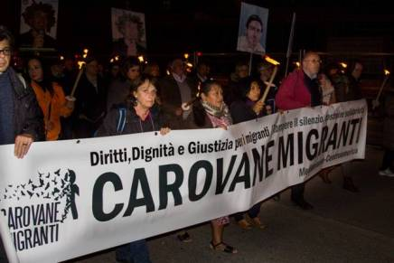 Carovane migranti: el viaje continúa por la dignidad y lajusticia