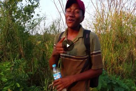 Migrante hondureño dedica cancion a lostabasqueños