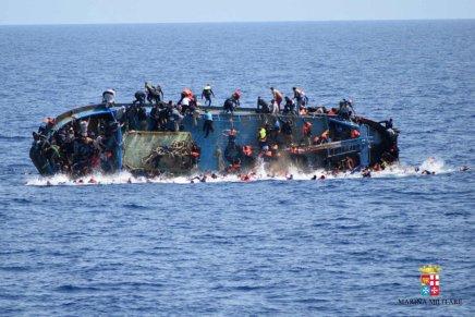 Niños sin compañía entre migrantes muertos en Mediterráneo:Unicef