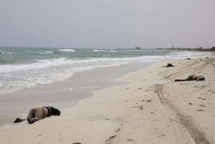 Encuentran 104 cadáveres de migrantes en playa deLibia
