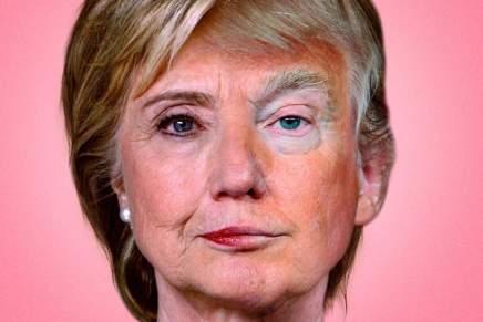 Entre Hillary oTrump