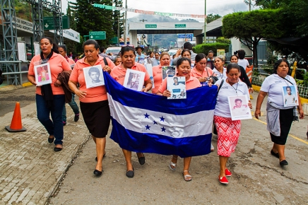 """Ruta de la """"Caravana de Madres de Migrantes Desaparecidos2017"""""""