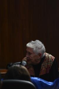 Marta Sánchez Soler, Movimiento Migrante Mesoamericano. Foto: Brenda Santos de la C.