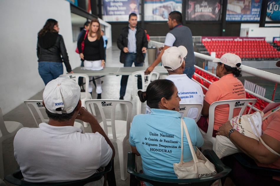 Toma de muestras en Córdoba, Veracruz
