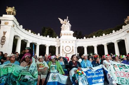 En la Ciudad de México, las madres continúan labúsqueda