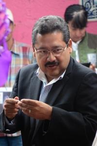 Tomás Carrillo, delegado del INM en Veracruz. Foto: Brenda Santos de la C.