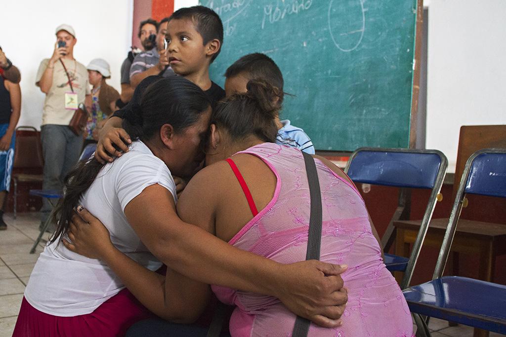 Reencuentro en Huixtla. Foto: Consuelo Pagaza