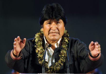 Evo Morales hace un llamado al pueblo mexicano y pide a Trump respeto a los derechos de losmigrantes
