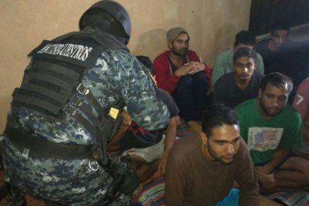 Liberan a migrantes de la India y Nepal que mantenian secuestrados enGuatemala