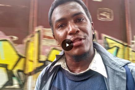 """VIDEO: """"En Mexico tambien nos persiguen"""" migrantes"""