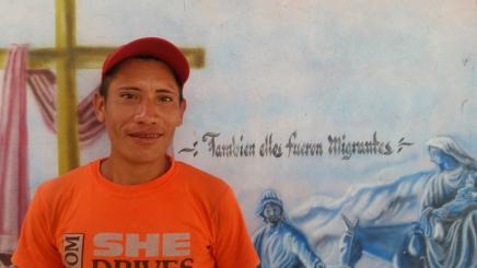 Jose Vazquez el migrante hondureño que iba a ser deportado aChina