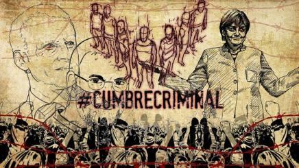 En la #CumbreCriminal se negocian mas políticas criminales contra los migrantes yrefugiados