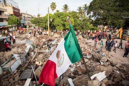 Migrantes mexicanos envian ayuda a Oaxaca para los damnificados delsismo