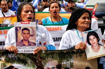 Fotos: llega la caravana a territoriomexicano