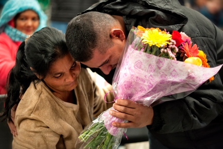 Honduran Woman Reunited With Lost Son After A Decade