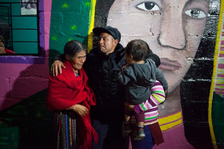 La Caravana de Madres celebra su primer reencuentrofamiliar