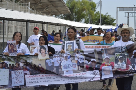 "Arranca la ""Caravana de Madres de Migrantes Desaparecidos 2017"" #4MilKilometrosDeEsperanza"
