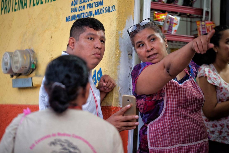 Doña Pilar y Rubén Figueroa