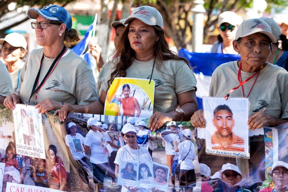 Caravana de Madres Centroamericanas da seguimiento a denuncias en laPGR.
