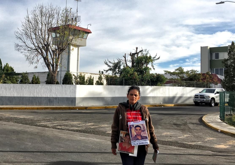 Caravana de Madres Centroamericanas continúan en la Comisaría de Prisión preventiva de Puente Grande, Jalisco. Foto: Consuelo Pagaza