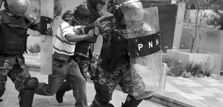 hondu represion 2