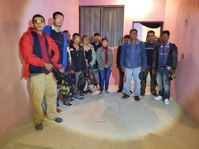 Rescatan a 13 migrantes hondureños secuestrados en Queretaro,Mexico