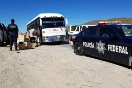 Autoridades mexicanas detienen en Coahuila autobus con 53 migrantessalvadoreños