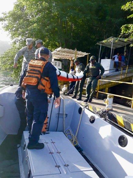 En Colombia traficantes lanzan al mar a 62migrantes