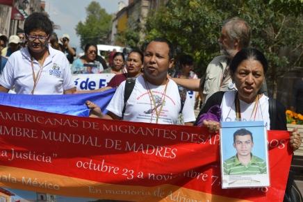 Red Mundial de Madres que buscan a sus hijas e hijos migrantesdesaparecidos.