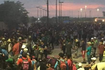 Éxodo centroamericano tomara la ruta haciaVeracruz