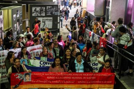 Las Madres Centroamericanas se unen a la Cumbre Mundial de Madres de MigrantesDesaparecidos