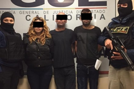 Detienen en Tijuana a los presuntos asesinos de dos migrantes de lacaravana