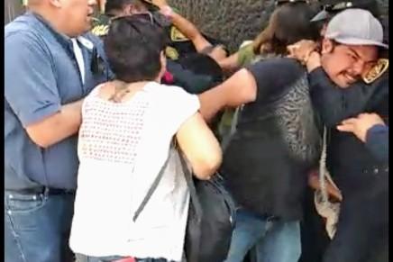 """Testimonio de un largo dia en el """"albergue"""" para migrantes en la Ciudad deMéxico"""