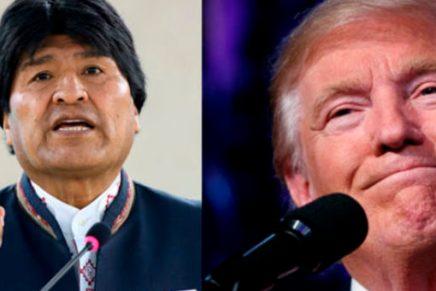 Evo Morales arremete contra Trump por migrantes mexicanos y delmundo