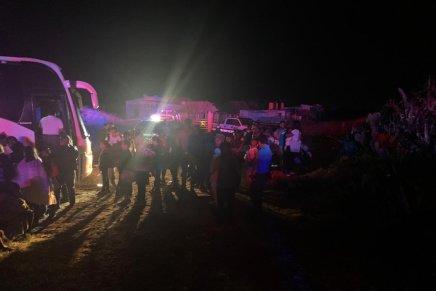 Rescatan en Mexico un autobus repleto de migrantes presuntamentesecuestrados
