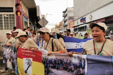 Las calles se inundaron de consignas que coreaban las madres centroamericanas exigiendojusticia