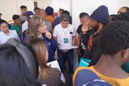 Solicita la @CNDH medidas cautelares en favor de migrantes hacinados en cárcel migratoria de NuevoLeón
