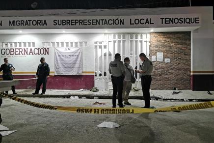 Posicionamiento de las y los sobrevivientes al motín en la cárcel migratoria deTenosique