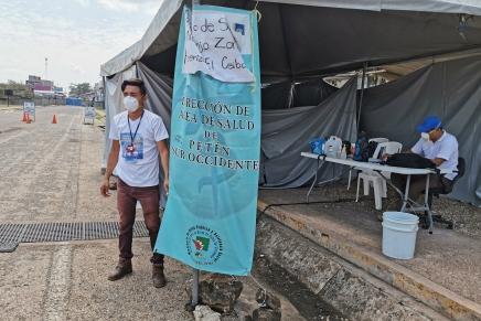 Cuatro migrantes deportados de México a Guatemala dan positivo aCovid-19