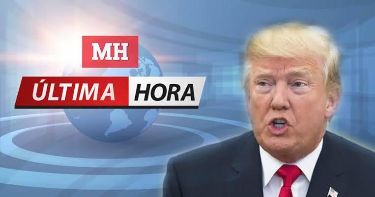 El presidente Donald Trump da positivo al virusCovid-19